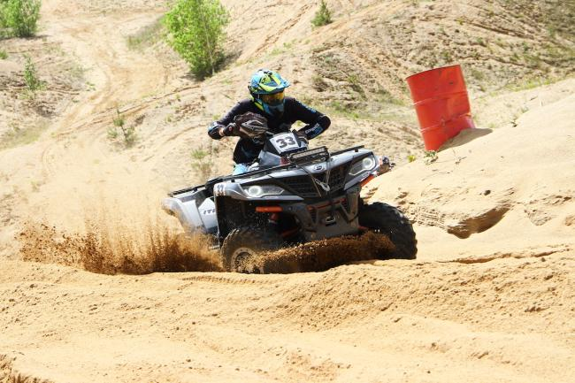 cfmoto factory racing team UTV side by side race in lithuania 45