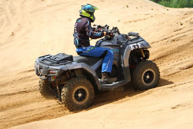 cfmoto factory racing team UTV side by side race in lithuania 47