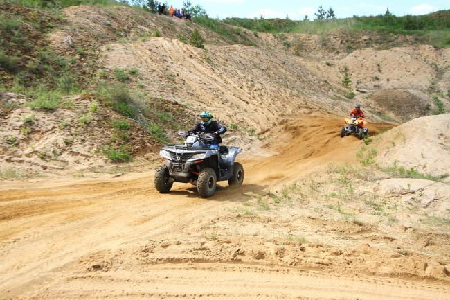 cfmoto factory racing team UTV side by side race in lithuania 49