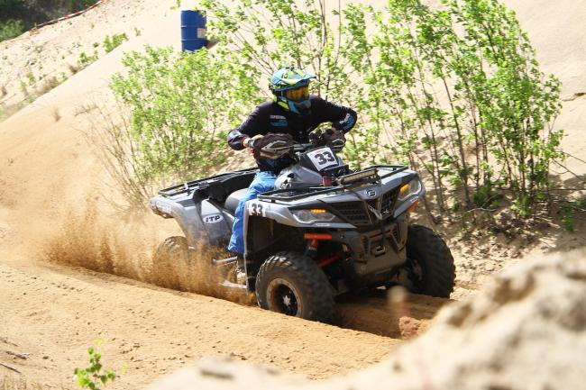 cfmoto factory racing team UTV side by side race in lithuania 51