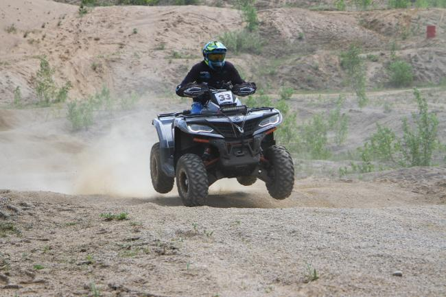 cfmoto factory racing team UTV side by side race in lithuania 52