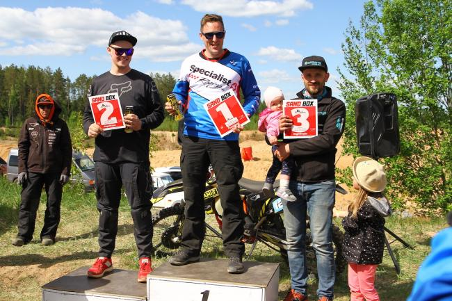 cfmoto factory racing team UTV side by side race in lithuania 54