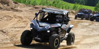cfmoto factory racing team UTV side by side race in lithuania 58