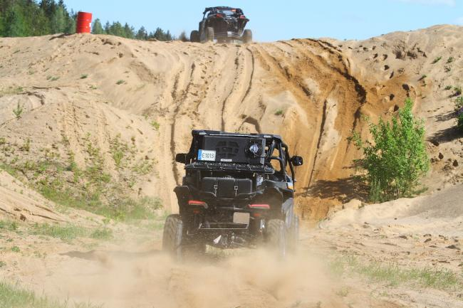 cfmoto factory racing team UTV side by side race in lithuania 59