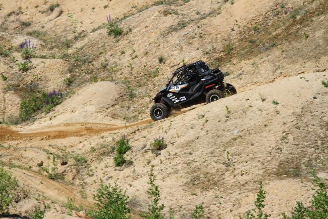 cfmoto factory racing team UTV side by side race in lithuania 61