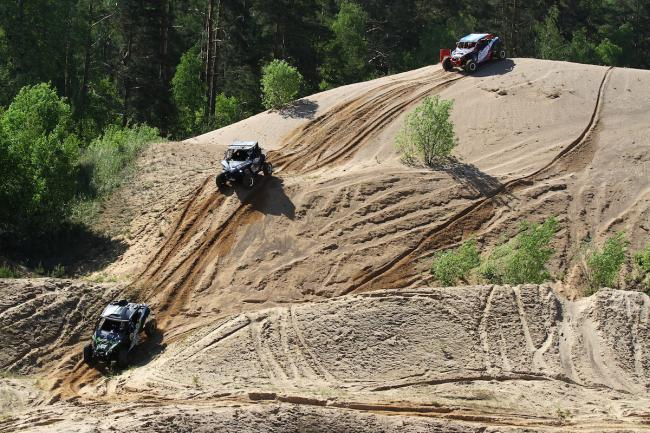 cfmoto factory racing team UTV side by side race in lithuania 64