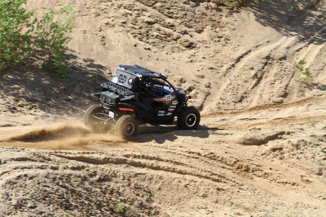 cfmoto factory racing team UTV side by side race in lithuania 66