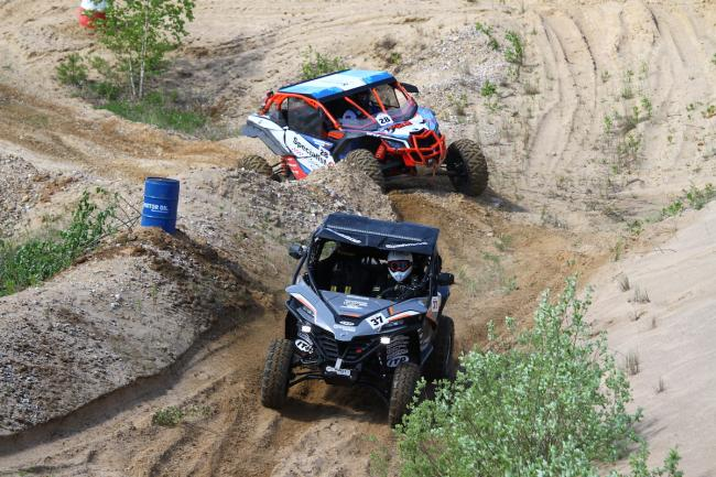 cfmoto factory racing team UTV side by side race in lithuania 68