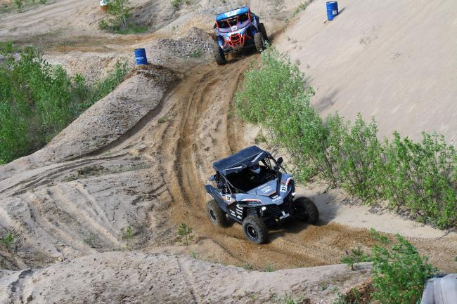 cfmoto factory racing team UTV side by side race in lithuania 69