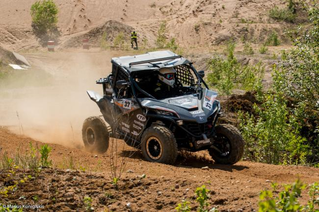 cfmoto factory racing team UTV side by side race in lithuania 7