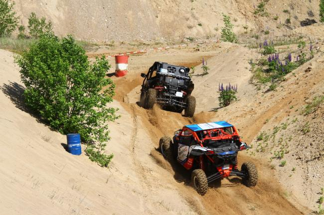 cfmoto factory racing team UTV side by side race in lithuania 72