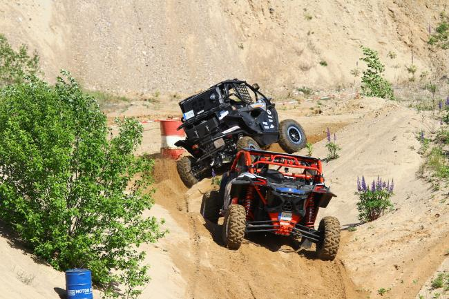 cfmoto factory racing team UTV side by side race in lithuania 73