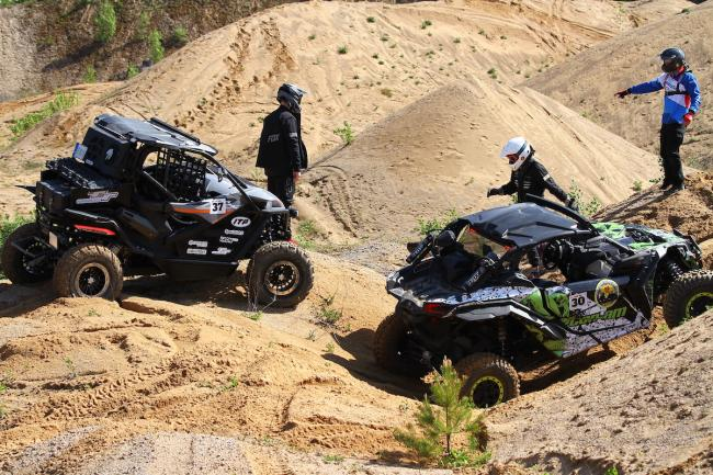 cfmoto factory racing team UTV side by side race in lithuania 74