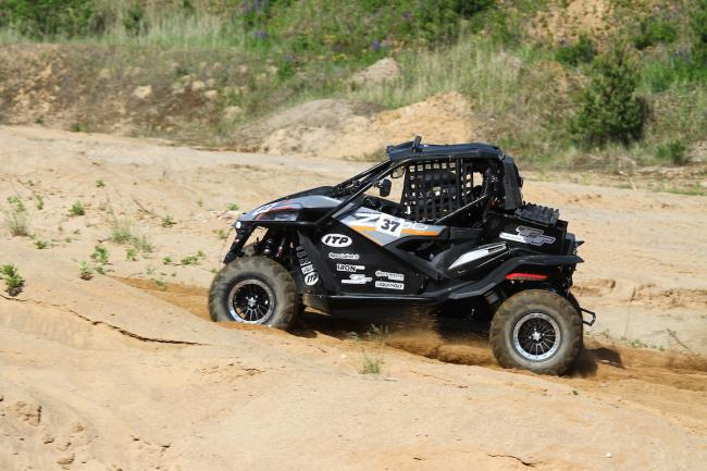 cfmoto factory racing team UTV side by side race in lithuania 76