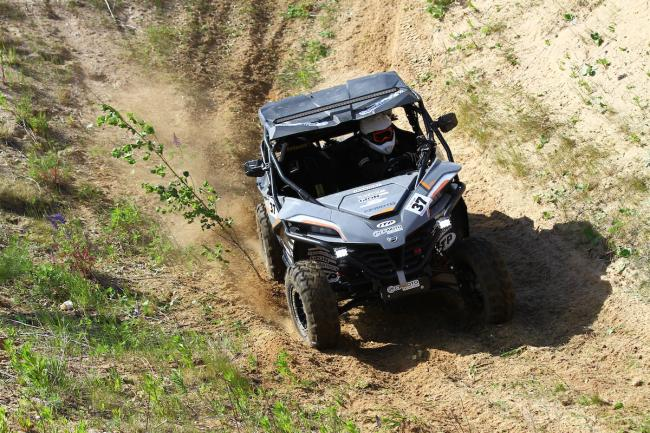 cfmoto factory racing team UTV side by side race in lithuania 80