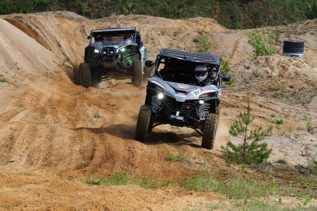 cfmoto factory racing team UTV side by side race in lithuania 81