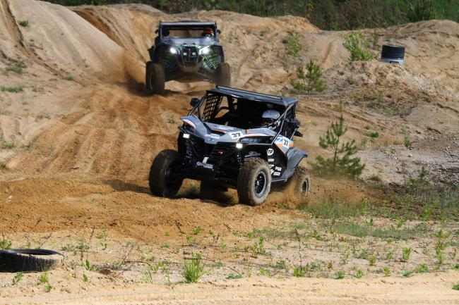 cfmoto factory racing team UTV side by side race in lithuania 82