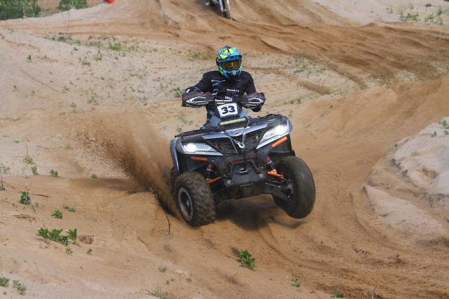 cfmoto factory racing team UTV side by side race in lithuania 89