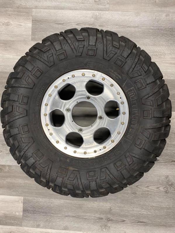 speed UTV 2 piece beadlock rim and tire