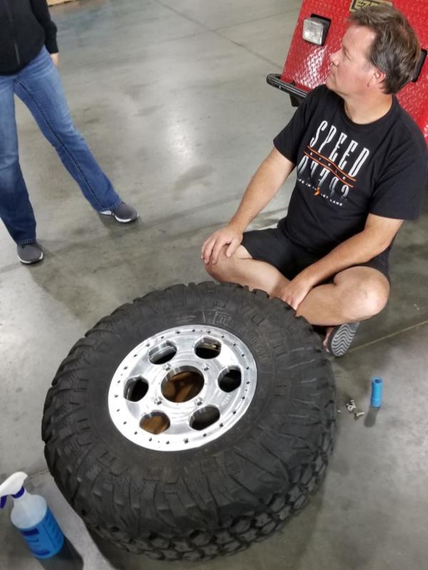 speed UTV 2 piece beadlock wheel