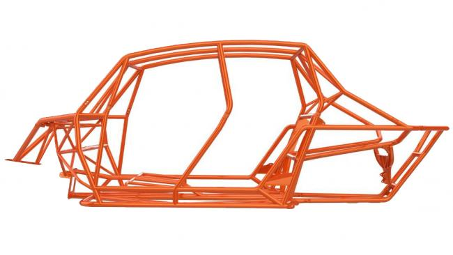 speed UTV 4 seater chassis el jefe from the side 1