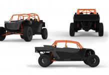 speed UTV 4 seater el jefe in black 2