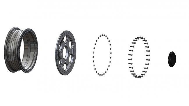 speed UTV beadlock 2 piece wheel design