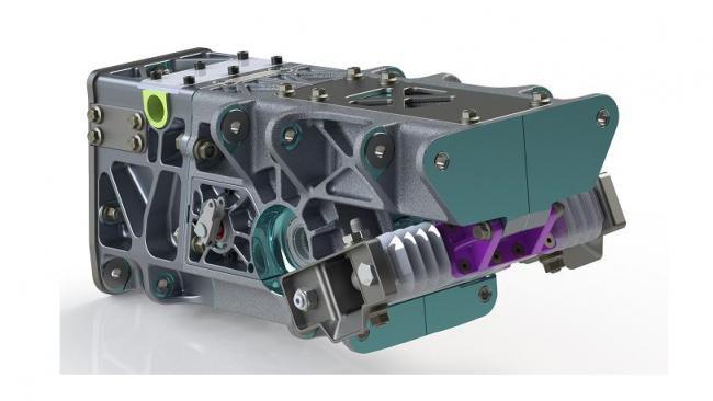 speed UTV bulkhead front axle steering rack 1