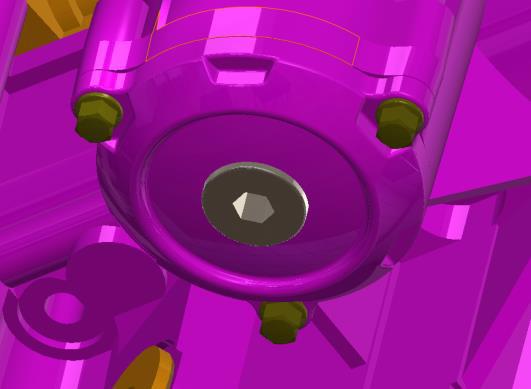 speed UTV oil filter drain plug