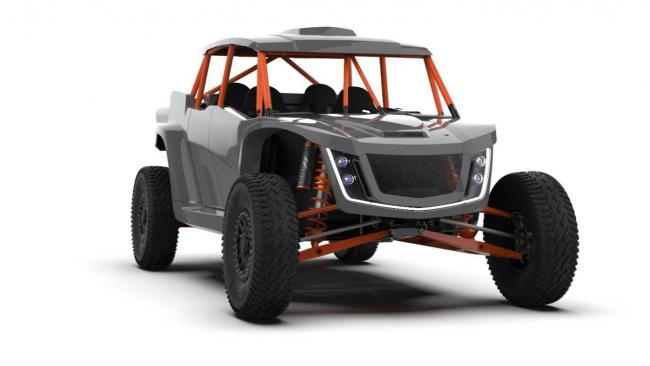 speed UTV robby gordon edition from the front side
