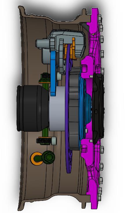 speed UTV wheel and wheel bearing 1