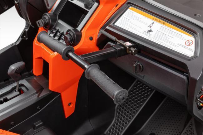 2020 Honda Talon 1000X 4 Fox Live Valve interior from the passanger side
