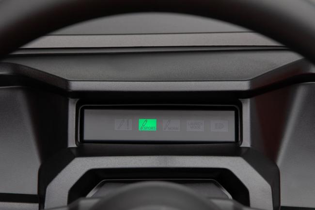 2020 Honda Talon 1000X 4 Fox Live Valve mode display