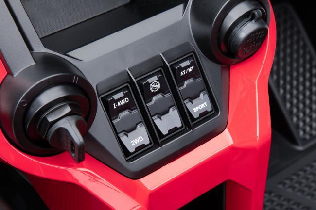 2020 Honda Talon 1000X switches