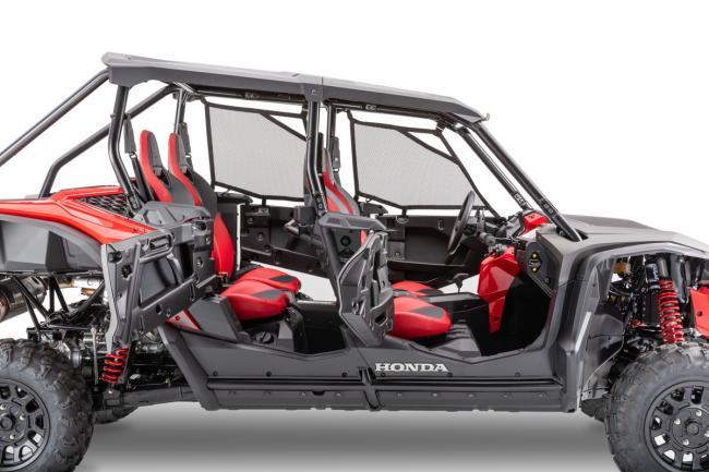 2020 Honda Talon 1000X with doors open