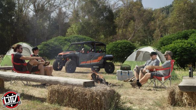 Camping with the 2020 Polaris Ranger General XP 4 1000