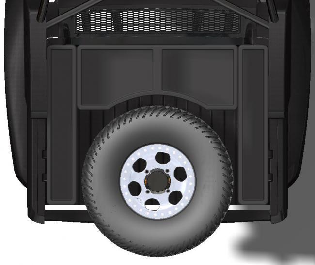 speed UTV bed prerunner style bumper mount