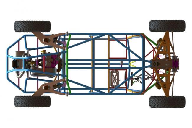 speed UTV chassis original design