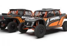 speed UTV el jefe rg edition black and ornage design 1