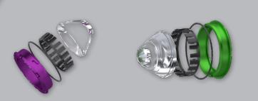 speed UTV light design