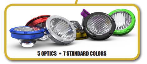 speed UTV lights lenses