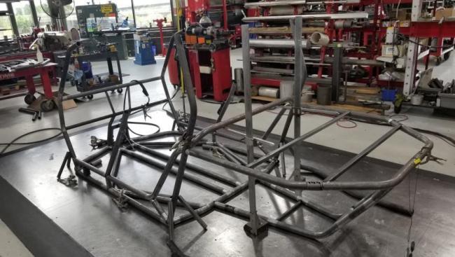 speed UTV prototype chassis