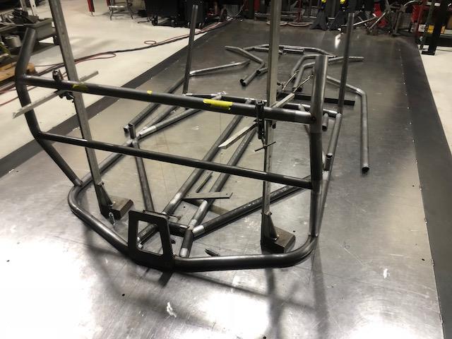 speed UTV prototype chassis build