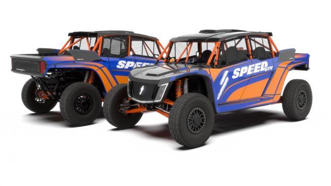 speed UTV rg edition el jefe blue and orange