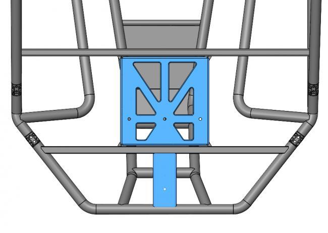 speed UTV tire mount options on the frame