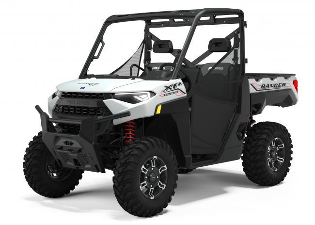 2021 ranger xp 1000 premium trail boss ghost white 3q