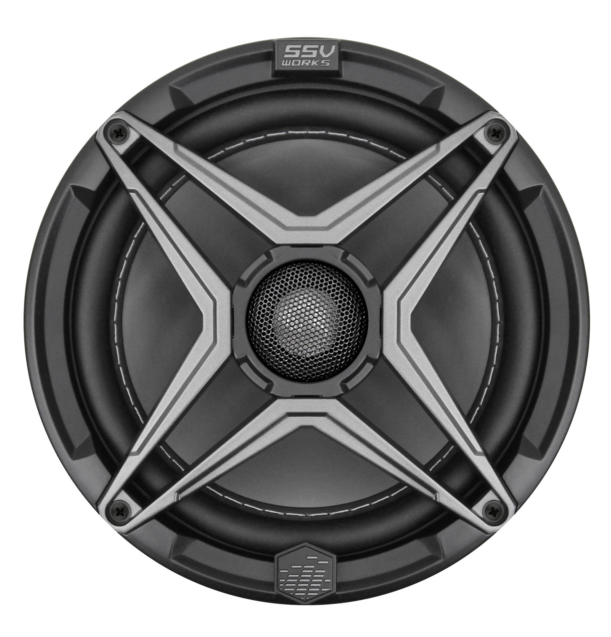 SSV Works 8 inch powersports speaker front 1