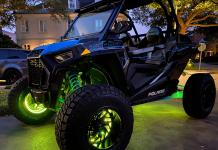 Oracle Lighting RZR Wheel Rings 1