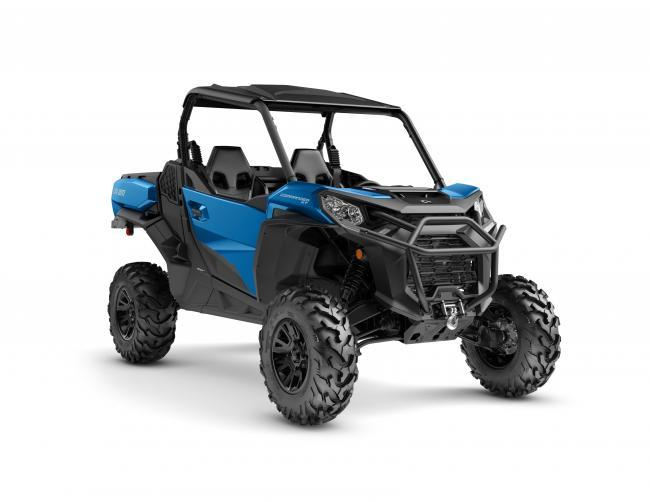 Commander XT 1000R Oxford Blue front