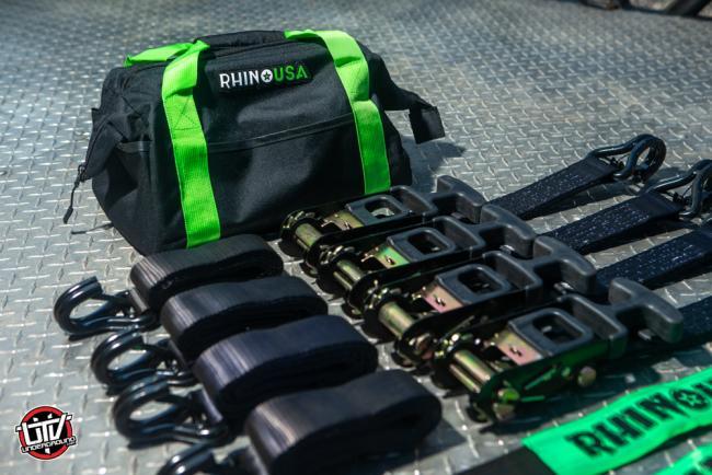 Rhino USA Vehicle Ratchet Tire Down Kit 02